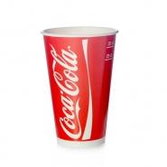 Trinkbecher Coca Cola Rot Pappbecher 0,3l - 300ml Kaltgetränke 100 Stk