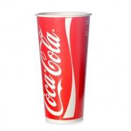 Trinkbecher Coca Cola Rot 0,5l Pappbecher 500ml Kaltgetränke 50 Stk
