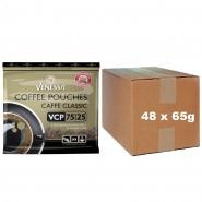 Venessa Caffee Classic Pouches VCP 75/25  48 x 65g Kaffee gemahlen