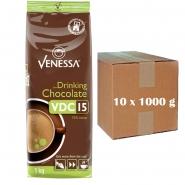 10 x Venessa VDC 15 Trinkschokolade 1000 g Kakao