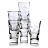 Jim Beam Gläser Whisky Glas 6 Tumbler Bourbon 34cl